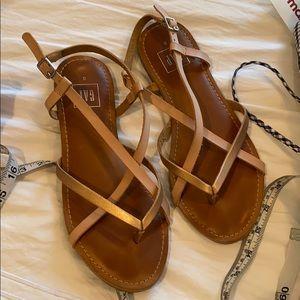 GAP leather sandals